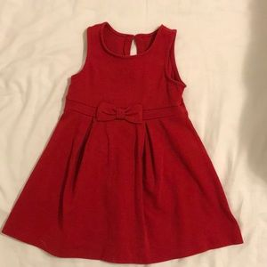 Toddler little red dress